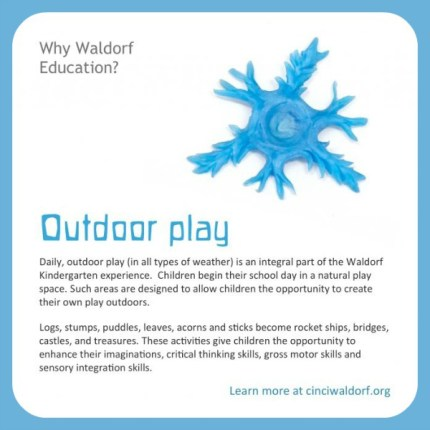 Waldorf Education - Outdoor Play  Discovering Waldorf  www.theMagicOnions.com