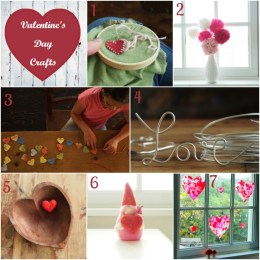 Valentine's Day Crafts and Tutorials