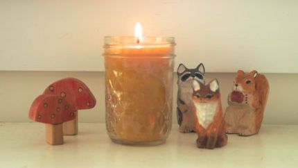 Make Beeswax Candles : www.theMagicOnions.com