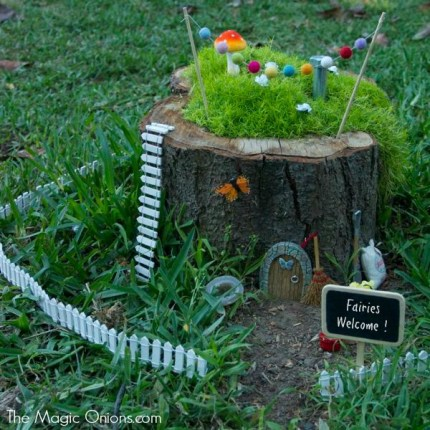I hope you are planning to make a Fairy Garden with your own little ones this season. Please enter it into our Annual 2014 Fairy Garden Contest. Important Fairy Garden Links :  Fairy Garden Page with lots of photos, links and ideas.  2014 Fairy Garden Contest Rules and Entry Form  Detailed Tutorial on How To Make A Fairy Garden     Fairy Gardens : Pinterest : The Magic Onions     Happy Fairy Gardening!