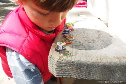 Collecting Bottlecaps : Big Sur Camping : The Magic Onions.com