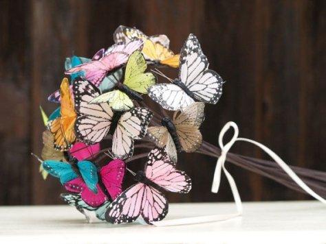 Butterfly Bridal Bouquet : Fairyfolk Weddings : www.fairyfolkweddings.etsy.com