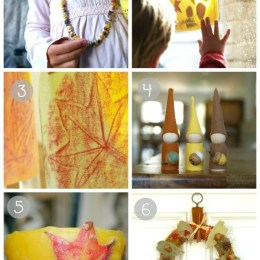 6 Nature Inspired Fall Crafts