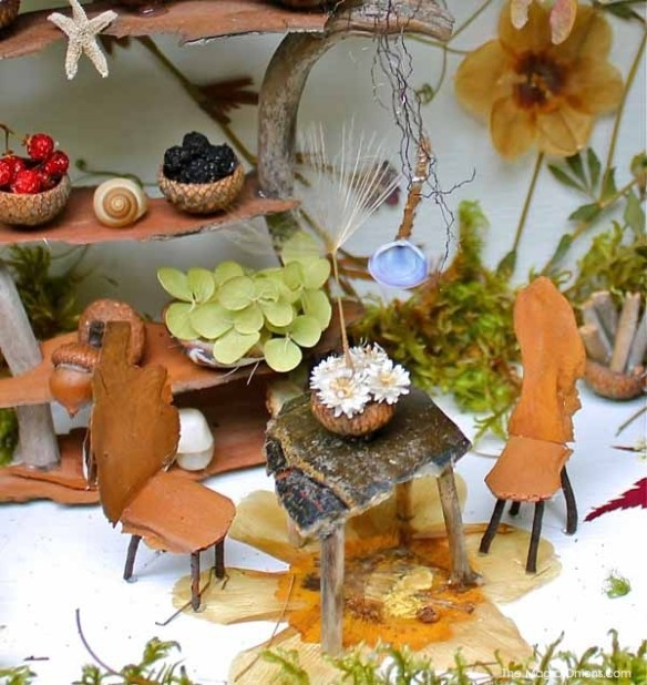 Natural Fairy Garden : Fairy Garden Contest Finalists : The Magic Onions