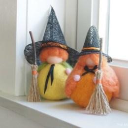 Halloween Giveaway : Pumpkin Witches!