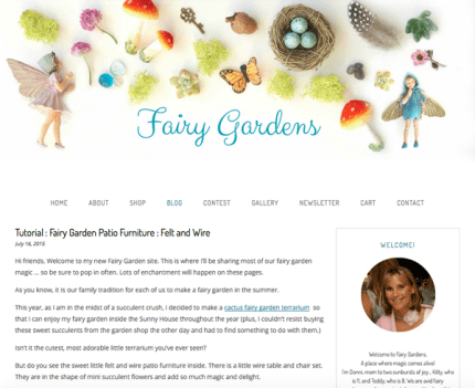 photo of the best fairy garden site