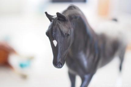 photo of a breyer horse