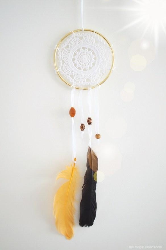 Lacy Dream Catcher : Magic Craft Box Autumn : www.theMagicOnions.com/shop