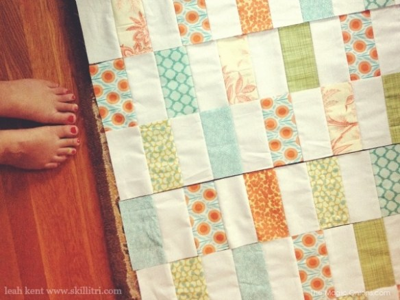 Photo of a handmade Quilt : www.theMagicOnions.com