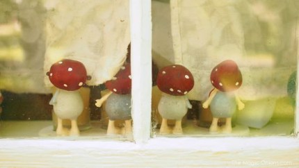 Photo of a Toadstool Gnome Family : www.theMagicOnions.com