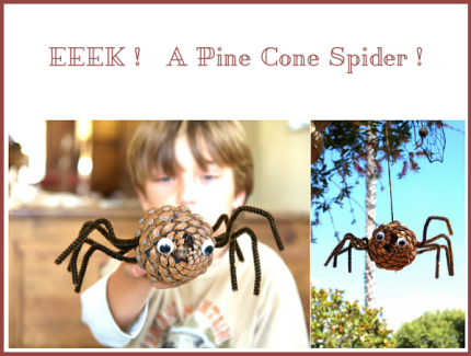 Pine Cone Halloween Crafts The Magic Onions