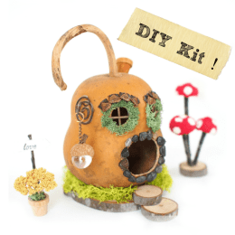 DIY Gnome Home in a Gourd!