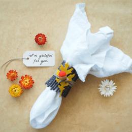 Nature Napkin Ring :: DIY Tutorial