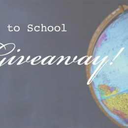 $75 Back To School Giveaway!