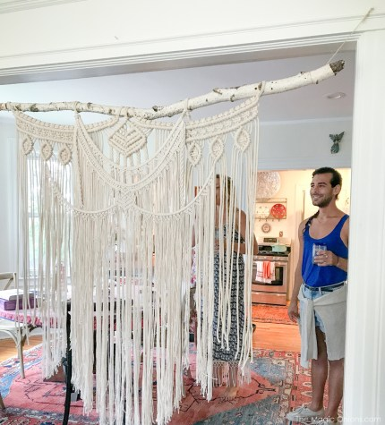 Macrame Workshop at Squam HQ