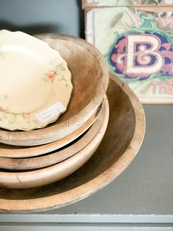 Antique wooden bowls ::The Vintage Trail :: Vermont