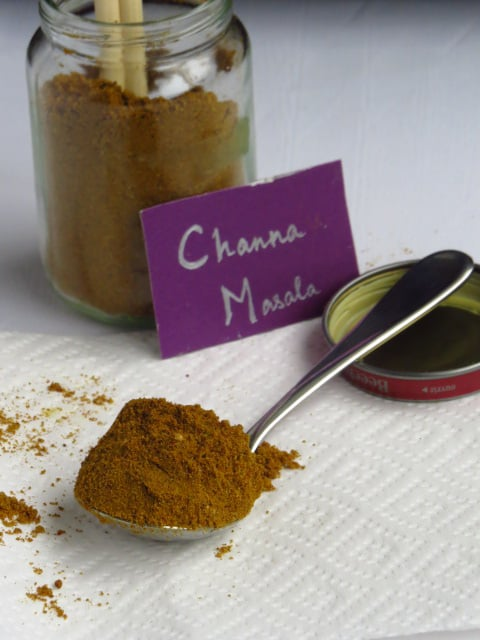 Home made Channa Masala Powder