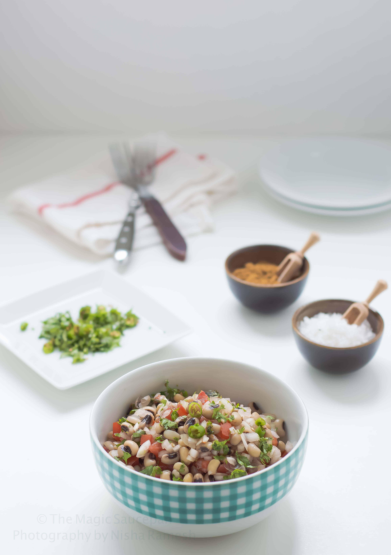 Cowpeas Salad  Karamani Salad