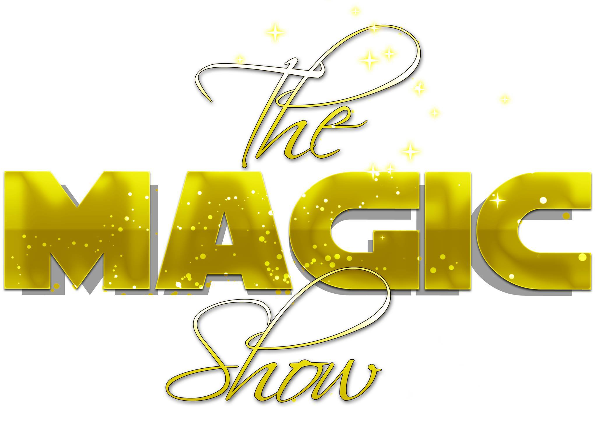 logo the magic show fond blanc