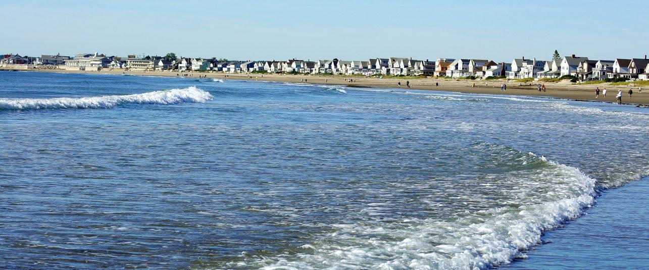 Long sandy beaches of Wells