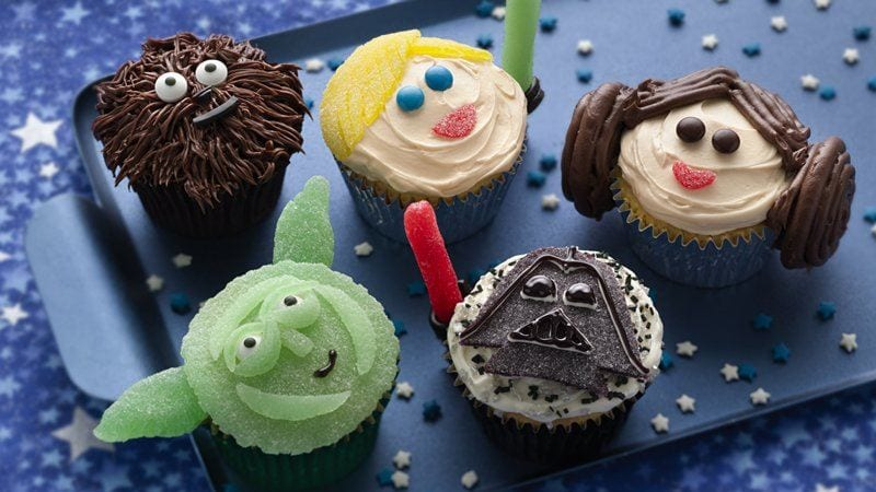 Star Wars Cupcakes – Recipe!