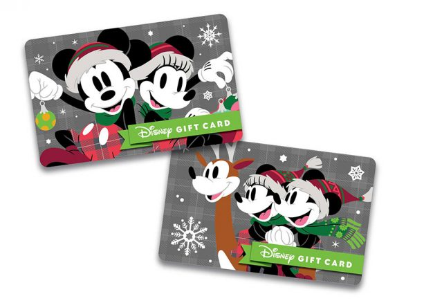Mickey and Minnie Disney gift card