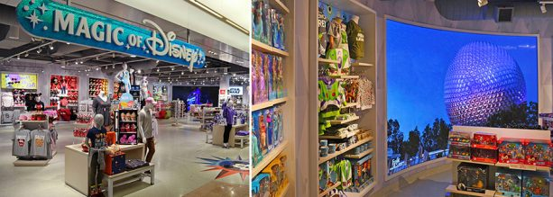 Reimagined Magic of Disney Store Now Open in Orlando International Airport