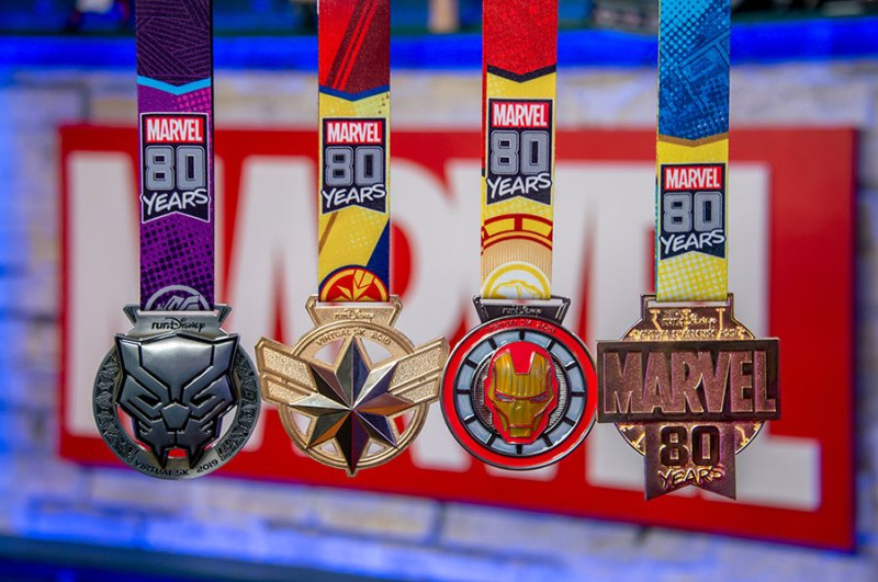 runDIsney Virtual Series medals