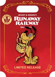 Mickey Mouse Runaway Railway Pluto pin
