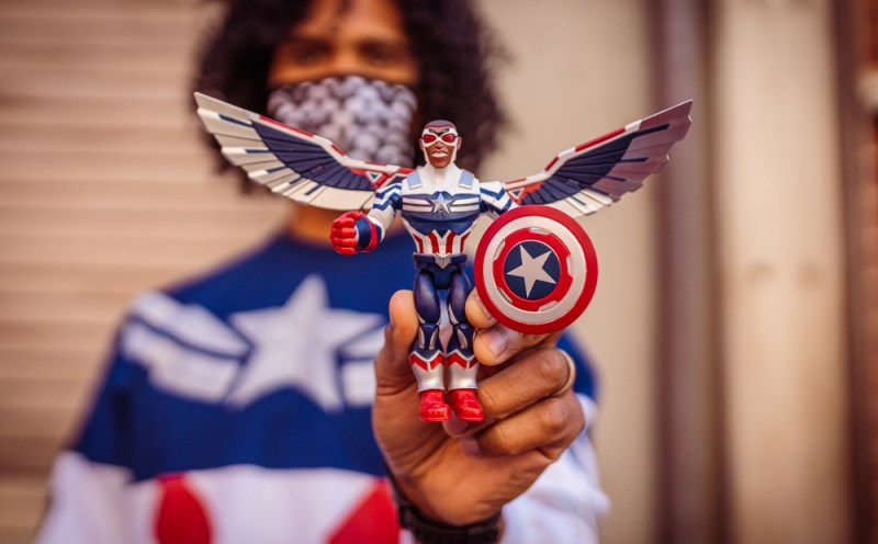 New Captain America Action Figure