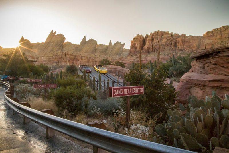 Cars Land at Disney Adventure Park