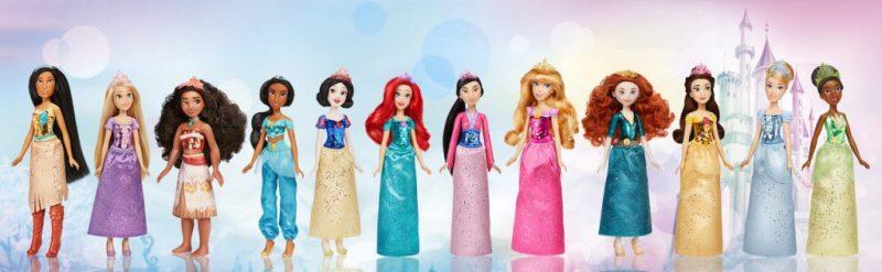 Hasbro Disney Princess Royal Shimmer Dolls