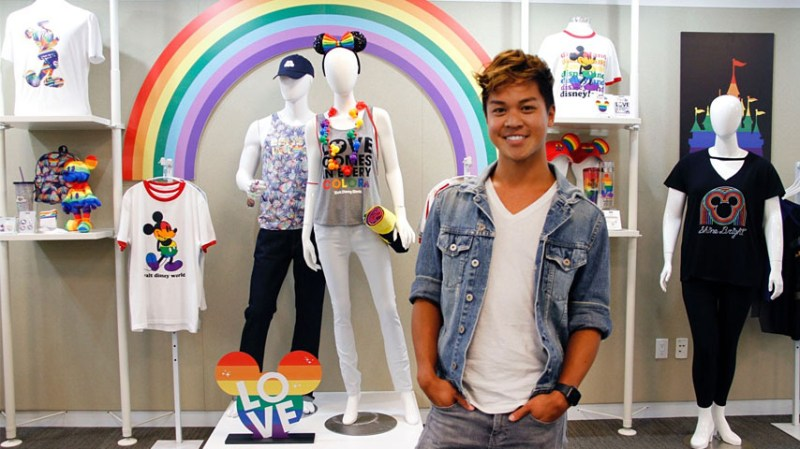 Brian Ng with the 2019 Rainbow Disney Collection