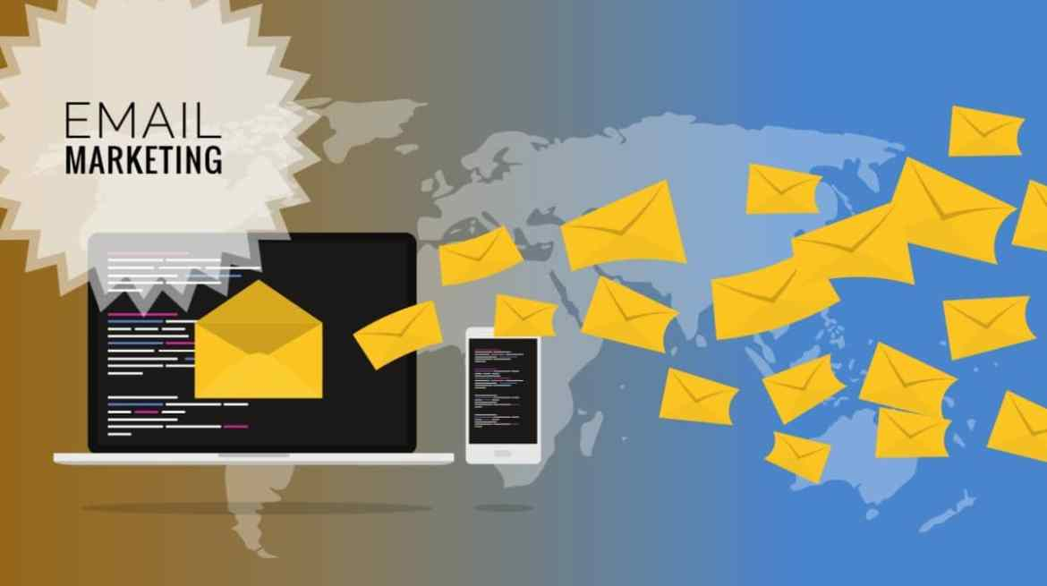 Picture showing how to Promote your Blog through email marketing