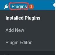 First illustration image of plugin installation in WordPress