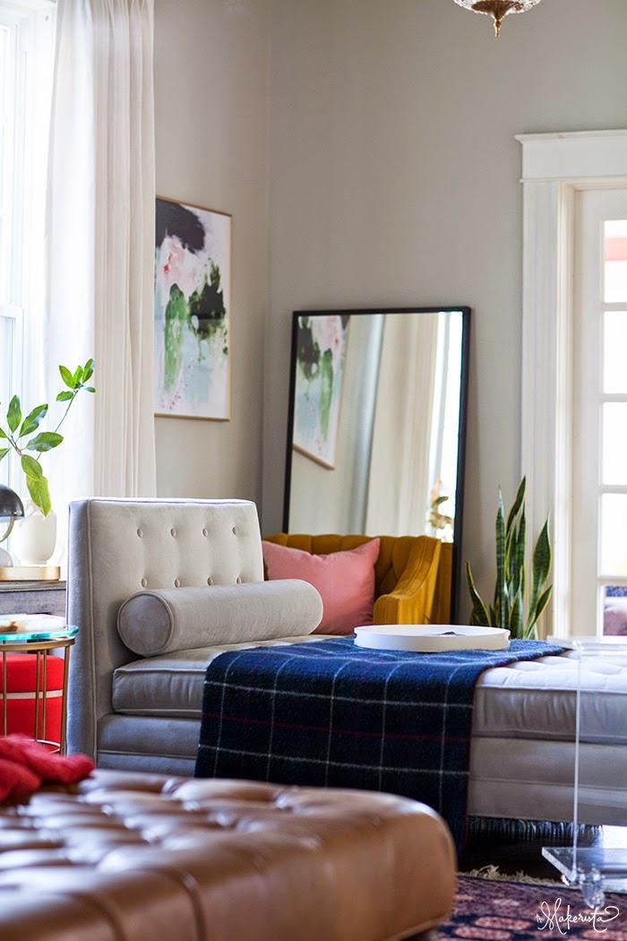 Lauras Living Room Reveal The Makerista