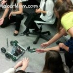 Vex Robotics Team Takes it to School