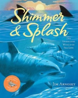 Shimmer and splash picture book on marine life