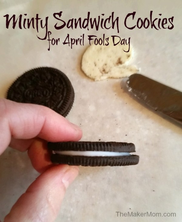 The April Fools Cookie Caper. Don't miss these four family-friendly April Fools pranks on TheMakerMom.com