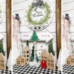 How To Make A Dollar Tree Diy Christmas Tree Farm Sign