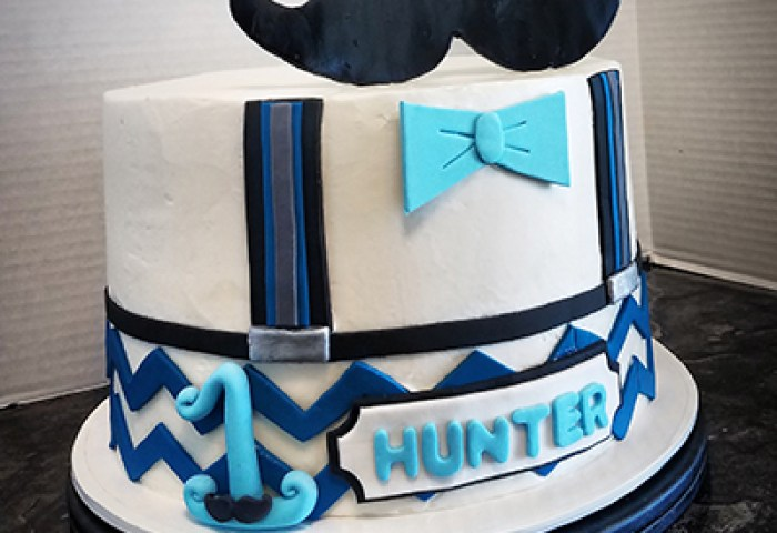 Little Man Cake Is Fun For Birthday One The Makery Cake Company