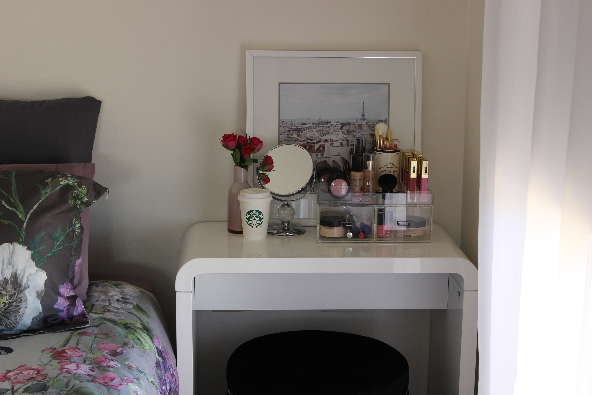 Makeup Vanity for Small Spaces - The Makeup Box Shop on Makeup Bedroom  id=62753