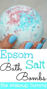 Make your own LUSH inspired DIY Bath Bombs with Epsom Salt! Copycat tutorial by The Makeup Dummy