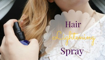 Diy all natural balayage hair highlights step by step the diy finishing hair lightening spray solutioingenieria Image collections