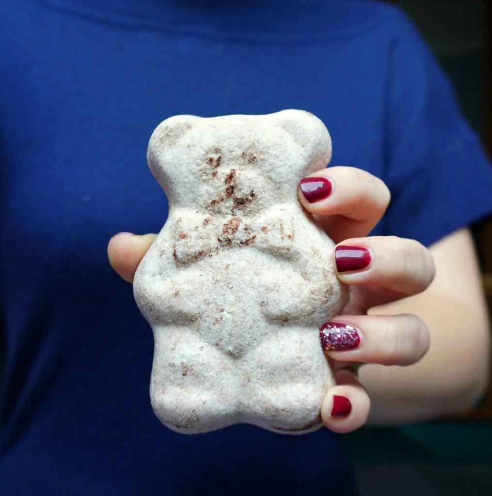 The Makeup Dummy   Cocoa Butter Bath Bomb Bear