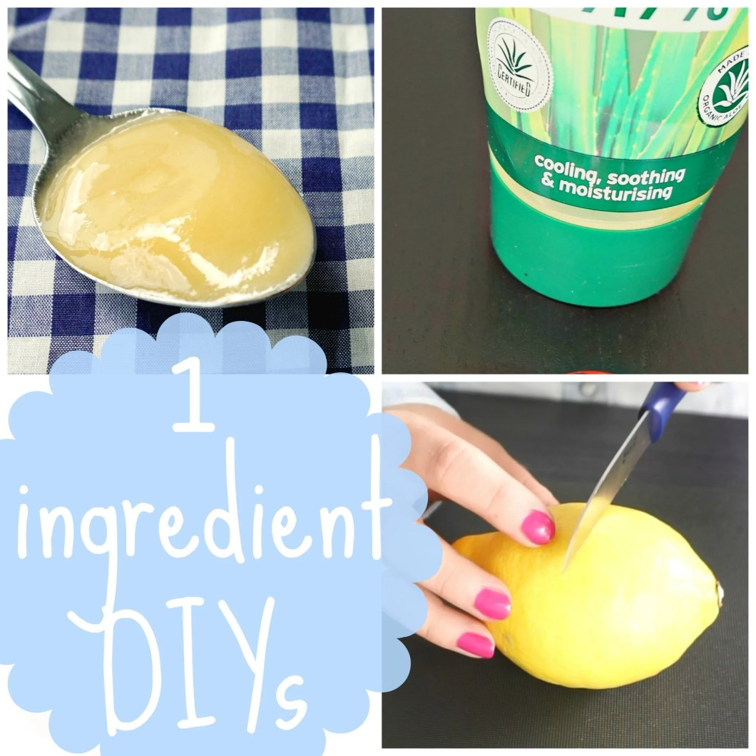 Amazing One Ingredient DIY Hacks by The Makeup Dummy