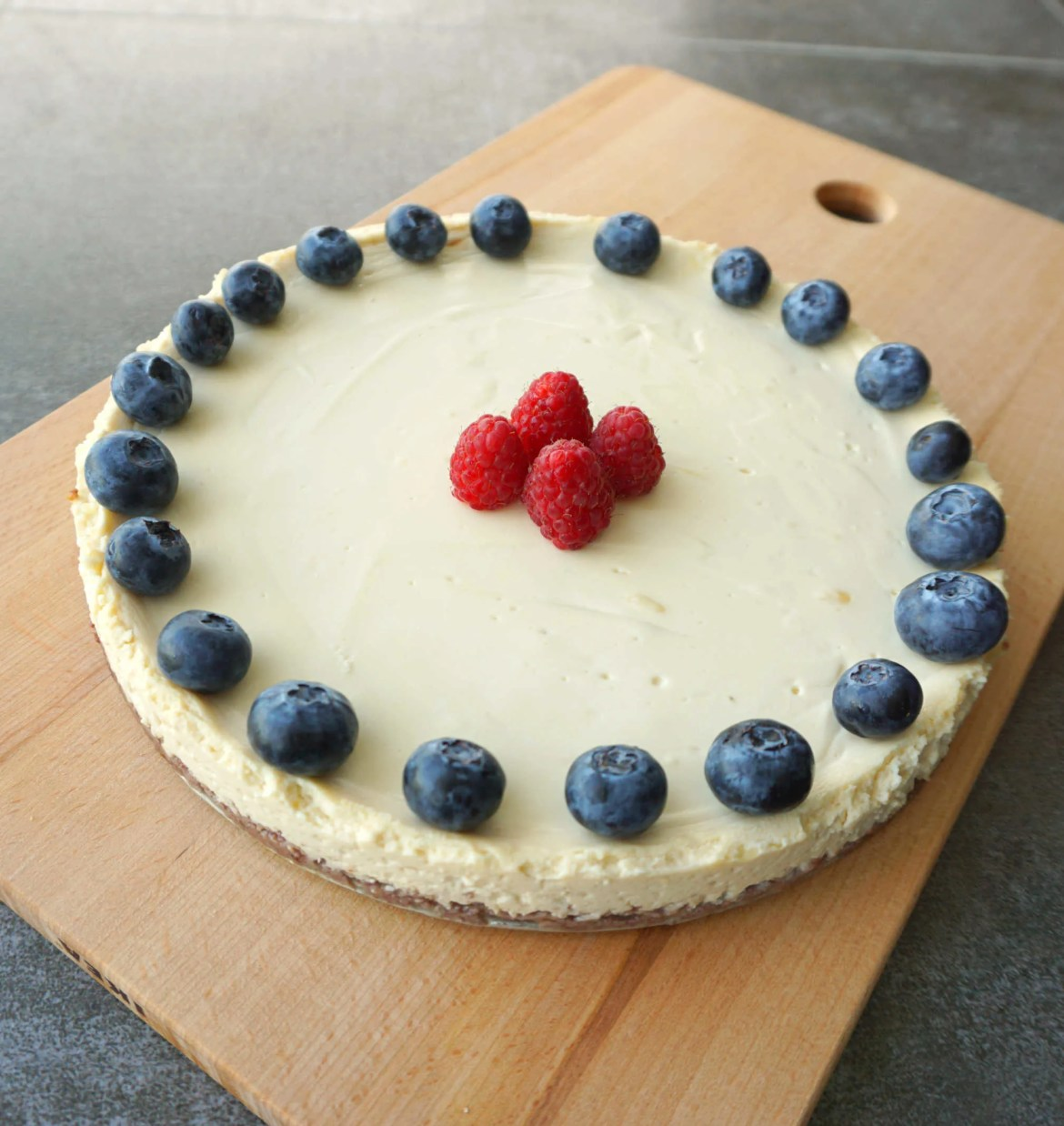 Healthy Heavenly Cheesecake recipe dessert by The Makeup Dummy
