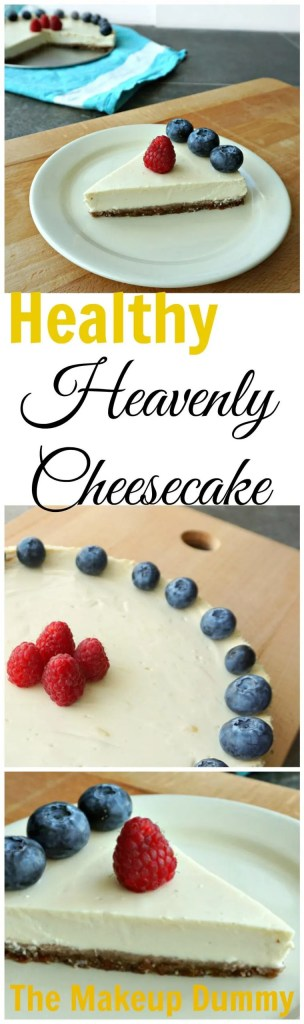 How To Healthy Cheesecake Recipe  DIY by The Makeup Dummy