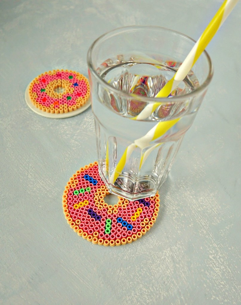 DIY Fast Food Perler Bead Coasters for Summer | How To Tutorial by The Makeup Dummy