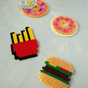 DIY Fast Food Coasters for Summer | How To Tutorial by The Makeup Dummy